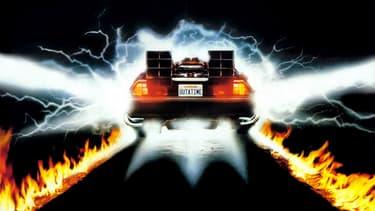 La célèbre voiture de Marty McFly