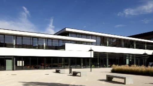 L'établissement scolaire où sont scolarisés les deux garçons, dans l'Essonne.