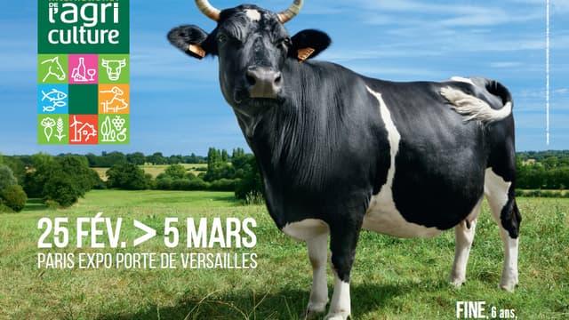 L'affiche du Salon International de l'Agriculture 2017