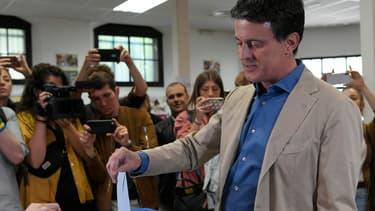 Manuel Valls le 26 mai 2019