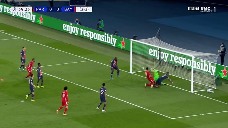 PSG-Bayern: l'ouverture du score de Choupo-Moting, qui relance les Munichois