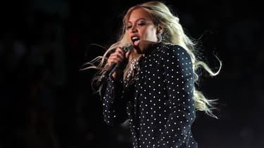 Beyoncé en concert le 4 novembre 2016