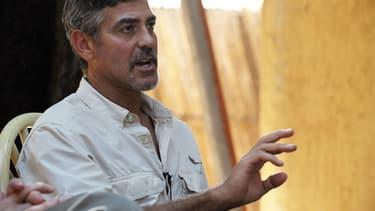 L'acteur a mis à profit son rôle d'ambassadeur pour inciter Nespresso à investir au Sud Soudan.