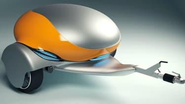 """La """"Nomad"""", un prolongateur mobile, peut-être le futur proche de millions de conducteurs de voitures électriques."""
