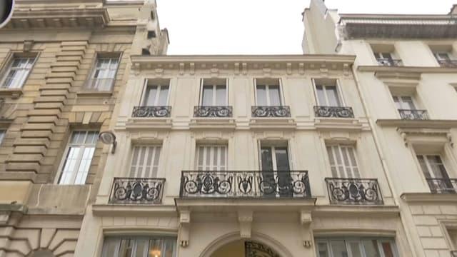 Benoît Hamon a inauguré samedi 11 février son nouveau QG, rue du Château d'Eau, dans le 10e arrondissement de la capitale.