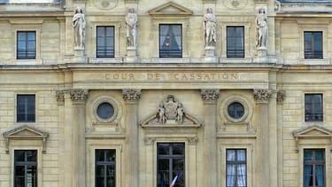 La cour de cassation, à Paris.