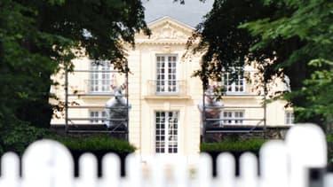La résidence de la Lanterne près de Versailles