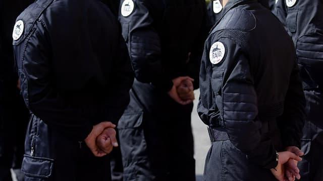 Des membres du RAID, corps d'élite de la police nationale (image d'illustration)