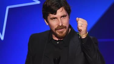 Christian Bale en janvier 2016