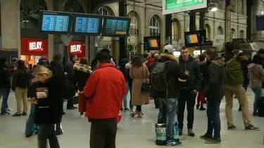 Une panne électrique a interrompu le trafic à la gare Saint-Lazare le 26 décembre 2017