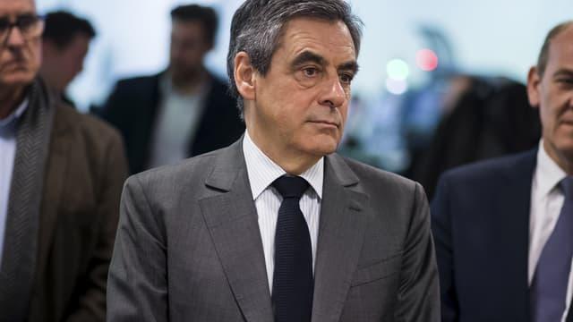 François Fillon, le 10 avril.