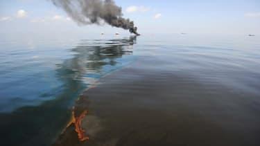 La marée noire, au large du Mexique, a répandu des centaines de millions de litres de brut dans l'océan.