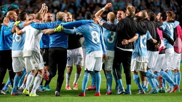 Les joueurs de Malmö