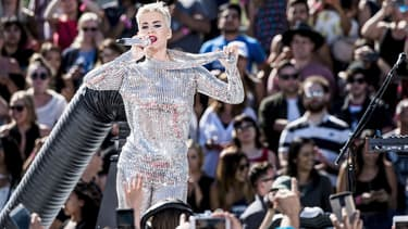 Katy Perry a terminé son livestream de 96 heures par un concert à Los Angeles.