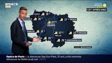 Météo Paris-Ile de France du 11 juin: Un ciel partiellement couvert