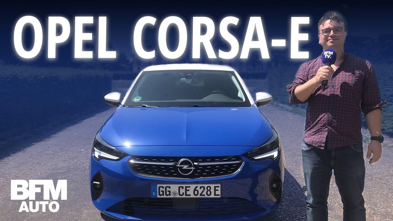 Au volant de l'Opel Corsa-e, la compacte 100% électrique