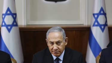 Le Premier ministre israélien, Benyamin Netanyahou.