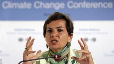 Christiana Figueres, secrétaire exécutive de la Convention cadre des Nations unies sur les changements climatiques (CCNUCC). Les négociateurs sur les questions de changement climatique se sont séparés au bout de sept jours de discussions à Panama en ne ga