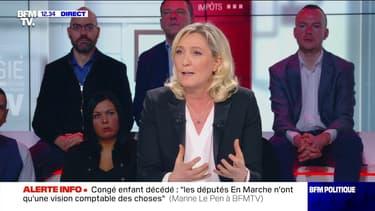"""Brexit : """"Je suis convaincue que la liberté leur ira mieux que la prison européenne"""", Marine Le Pen - 02/02"""