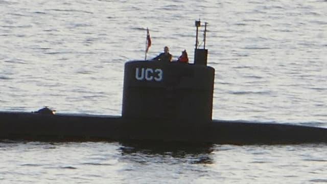 """Deux passagers du sous-marin privé """"UC3 Nautilus"""", le 10 août 2017 dans le port de Copenhague"""