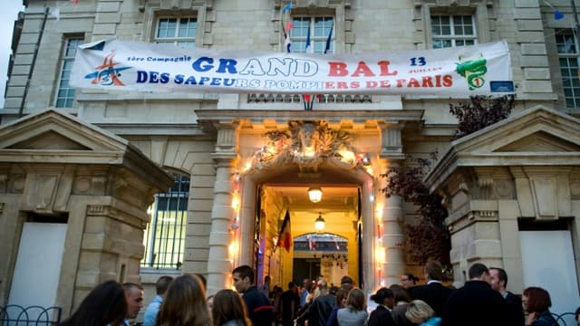 Un bal des pompiers dans le 13e arrondissement (photo d'illustration)