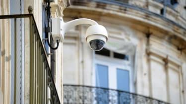 Une caméra de surveillance à Montpellier.