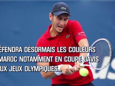 Tennis : Benchetrit va désormais jouer pour le Maroc