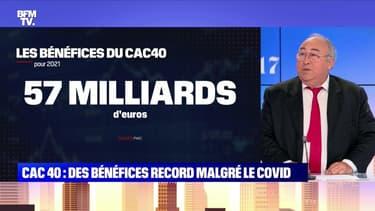 CAC 40: des bénéfices record malgré le Covid - 06/08