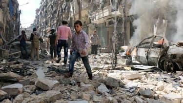 Près de 30 personnes ont été tuées dans des frappes aériennes de la coalition antijihadistes. Image d'illustration.