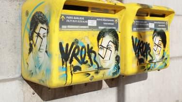 Des oeuvres de street-art représentant Simone Veil ont été taguées de croix-gammées en février