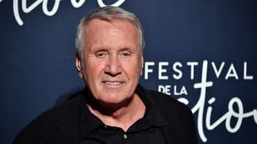 Le comédien Yves Rénier lors du festival de la fiction TV de La Rochelle, le 12 septembre 2018.