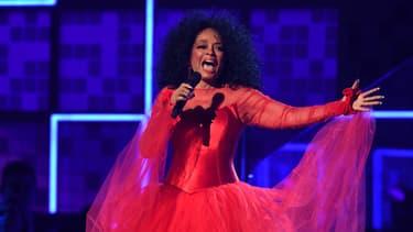 Diana Ross au Grammy Awards en 2019