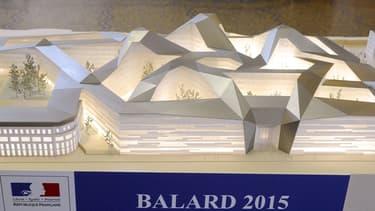 Le nouveau ministère de la Défense de Balard à Paris accueillera ses premiers occupants en mai 2015