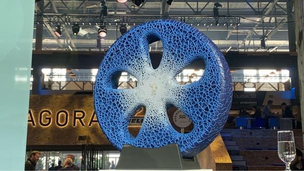 Le prototype Vision présenté au salon Movin'On en 2018