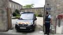 Un gendarme à Saint-Laurent-sur-Sèvre, dans l'ouest de la France, le 9 août 2021.