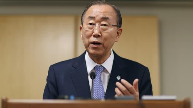 """La crise des réfugiés syriens exige une """"hausse exponentielle"""" de la solidarité selon Ban ki-moon - Mercredi 30 mars 2016"""
