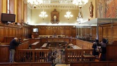 La cour d'assises de Paris, où est jugé Yvan Colonna pour l'assassinat de Claude Erignac en 1998 à Ajaccio. Le principal témoin oculaire de l'assassinat du préfet de Corse a déclaré mardi devant la cour d'assises qu'il ne reconnaissait pas en Yvan Colonna