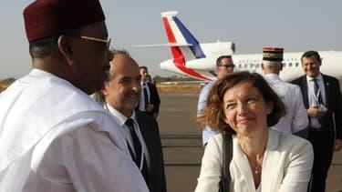 Florence Parly au Niger en décembre dernier.