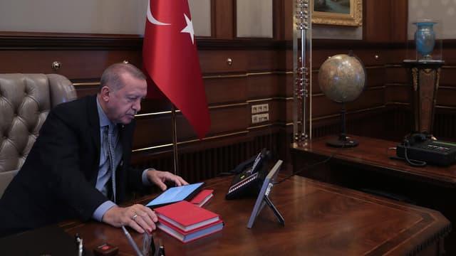 Le président turc Recep Tayyip Erdogan le 9 octobre 2019