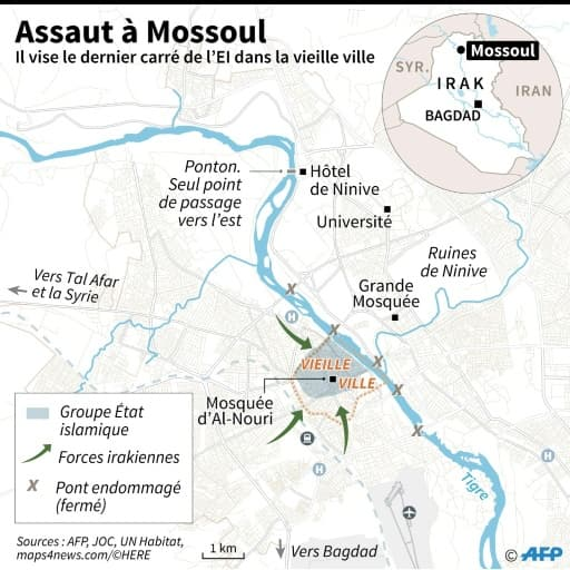 Assaut à Mossoul