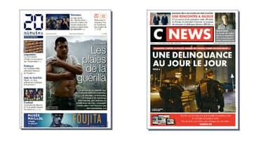 Depuis leur lancement, '20 Minutes' a cumulé 56 millions d'euros de pertes, et 'CNews Matin' 110 millions.