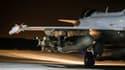 Un Rafale partant en mission au dessus de la Syrie