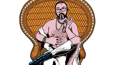 Le dessinateur Stéphane Trapier, créateur des affiches du théâtre du Rond-Point