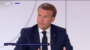 """Emmanuel Macron n'exclut pas de décaler la suppression de la taxe d'habitation pour """"les plus fortunés"""""""