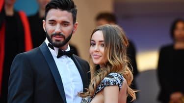 Nabilla Benattia et Thomas Vergara au Festival de Cannes 2018