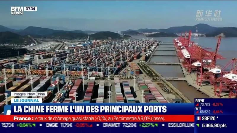 La Chine ferme l'un des principaux ports du pays