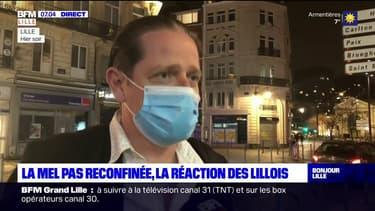 Covid-19: le Métropole de Lille pas reconfinée, la réaction des Lillois