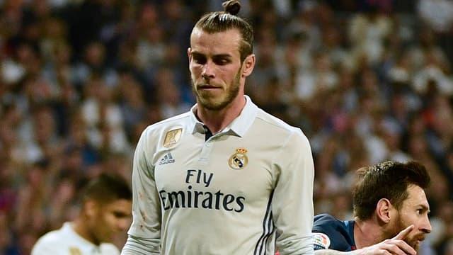 Quelques minutes après l'égalisation de Lionel Messi pour le Barça dans le clasico, Gareth Bale a dû sortir sur blessure.