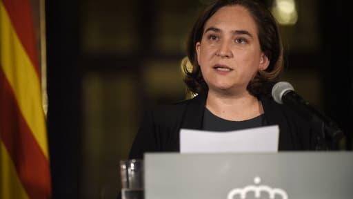 La maire de Barcelone, Ada Colau, le 9 octobre 2017.