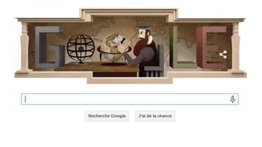 Le doodle Gérard Mercator